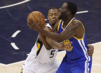 golden state warriors at utah jazz